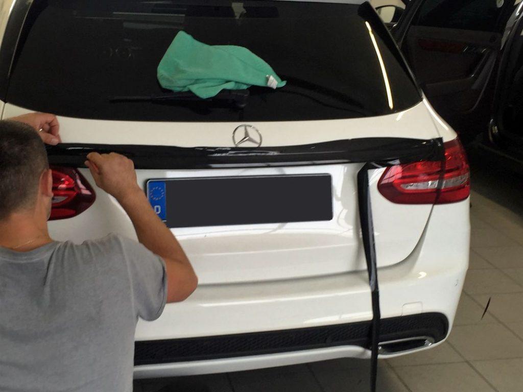 Chromleisten Folierung In Z B Schwarz Fur Bmw Shadowline M Paket Audi Glanzpaket Schwarz S Line Mercedes Amg Line